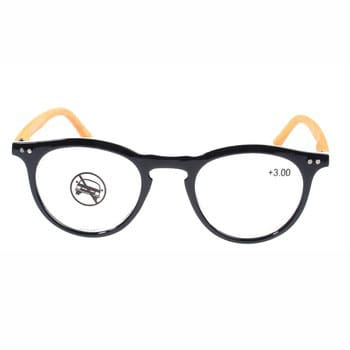 Fashionable unisex reading glasses with oval frame