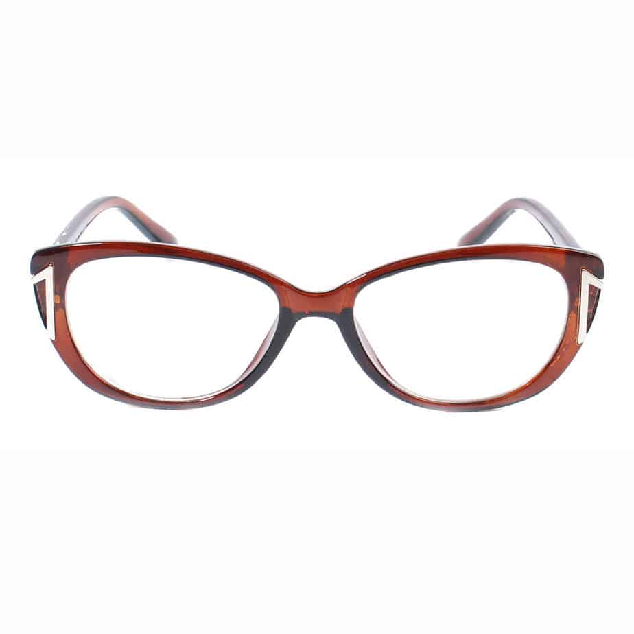 Retro oval lens custom unisex reading glasses