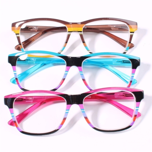 Y&T Brand Wholesale Metal Thin Optic Peepers Reading Glasses