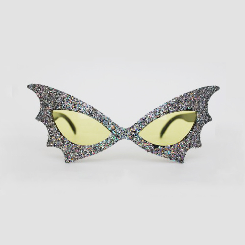 party mask glasses grey