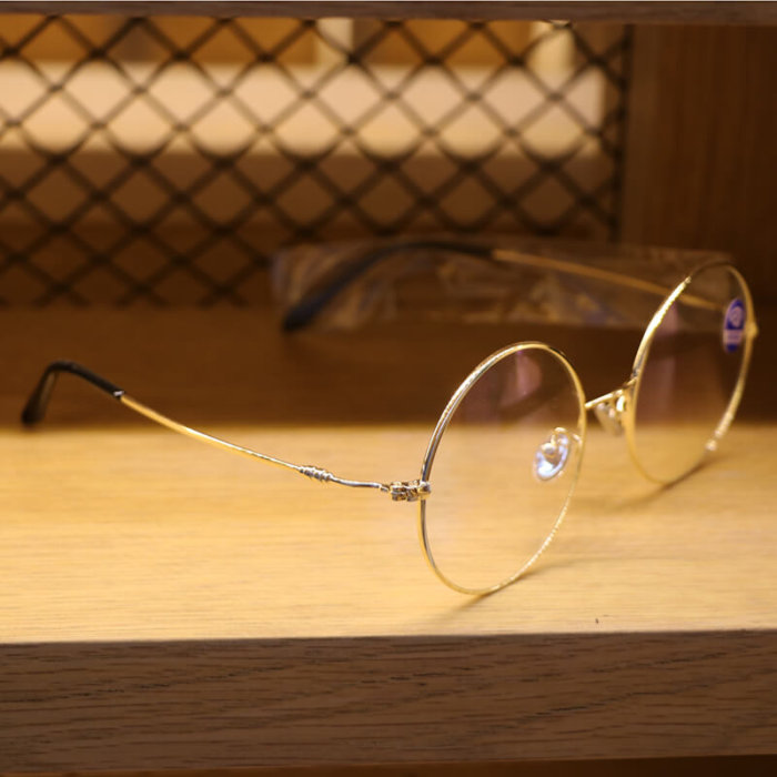 Round frame glasses in china