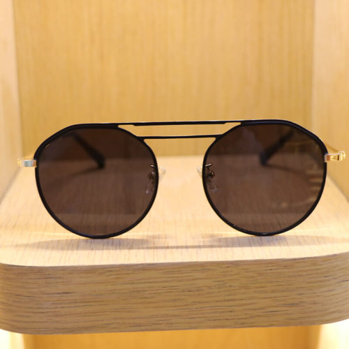 Mens Vintage Round Sunglasses