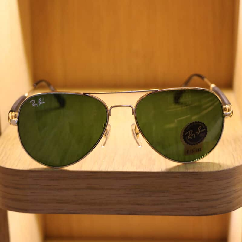 mirrored aviator glasses with
