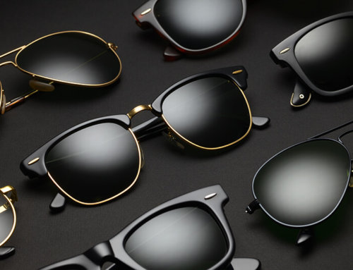 Are you wearing a polarizer sunglasses or normal sunglasses?