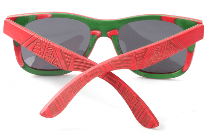 wholesale sunglasses with pattern on temples